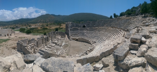 Ruins at Patara, Turkey